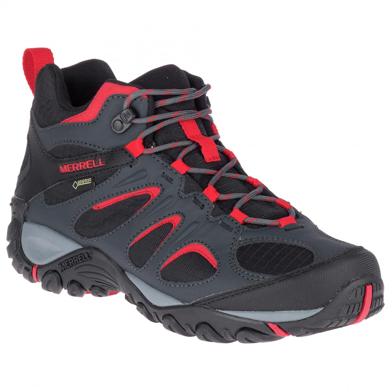 Merrell Yokota 2 Sport Mid GTX Shoes Herren Blackhigh Risk