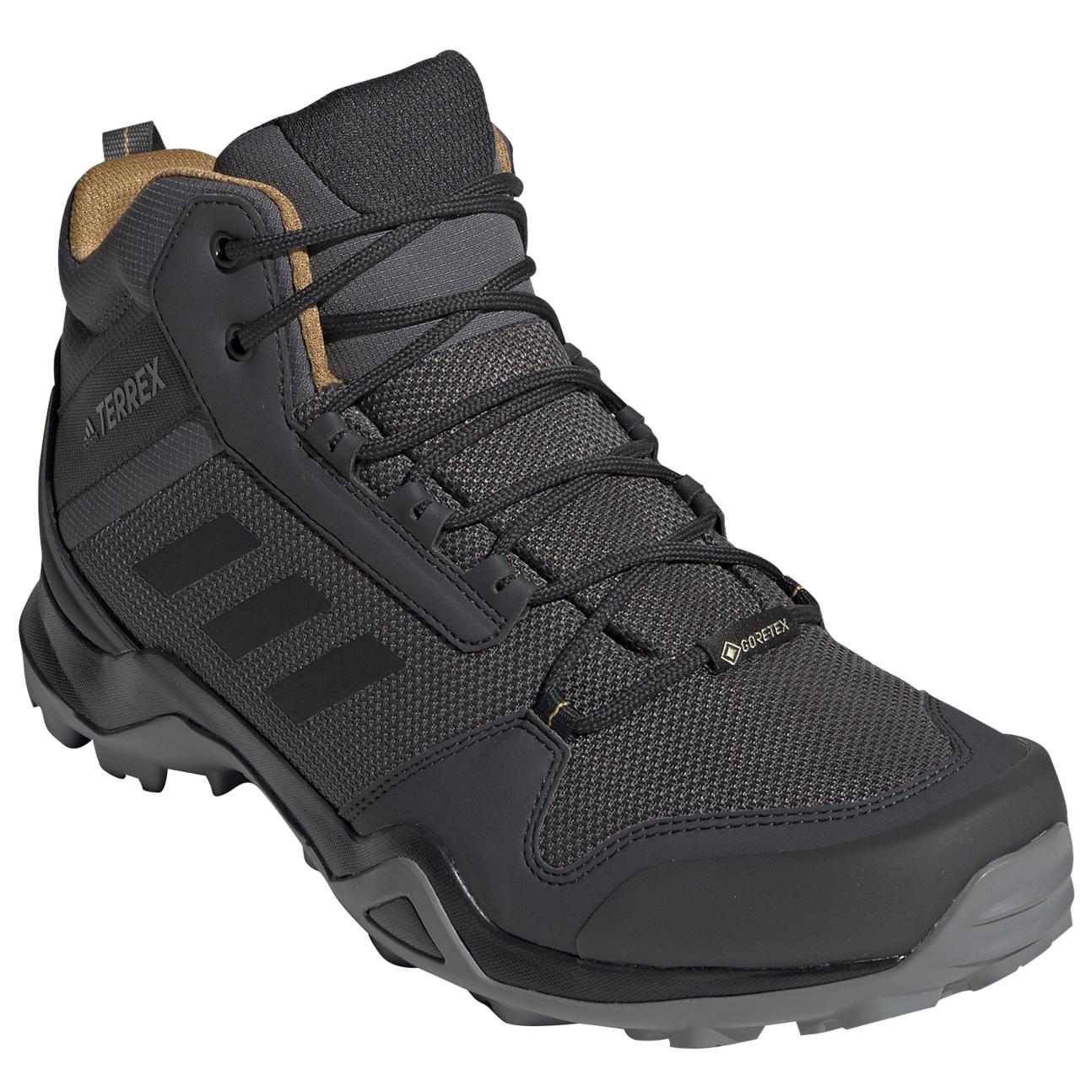 adidas Terrex AX3 Mid GTX Chaussures de randonnée Core Black Core Black Carbon | 10,5 (UK)