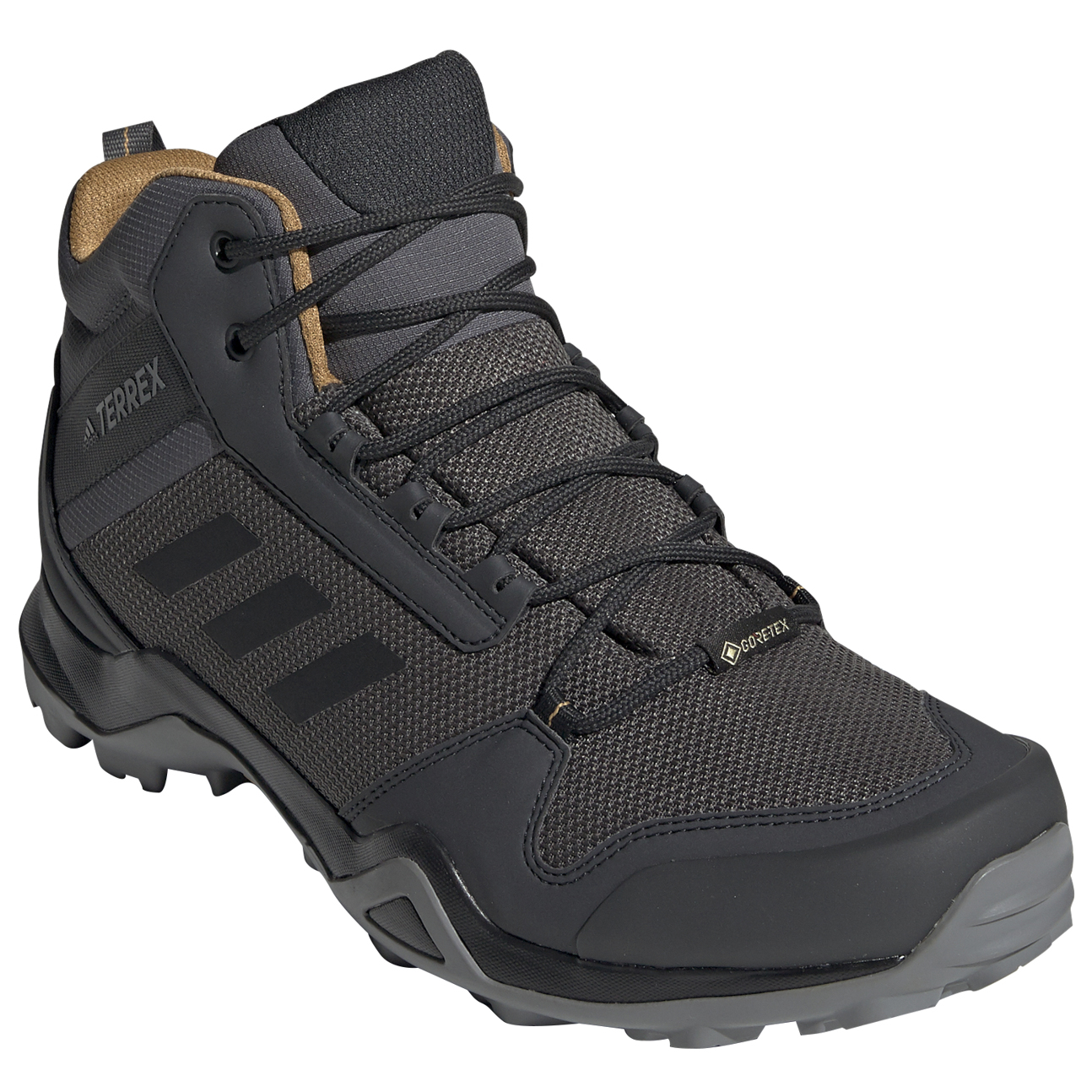 adidas - Terrex AX3 Mid GTX - Walking boots - Core Black / Core Black /  Carbon | 7 (UK)