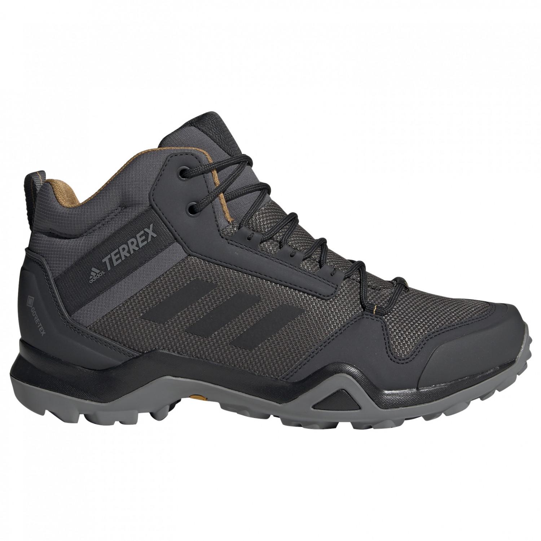 Adidas Ax3 Randonnée De Core Terrex Carbon7uk Mid Gtx Black Chaussures j35AR4Lq