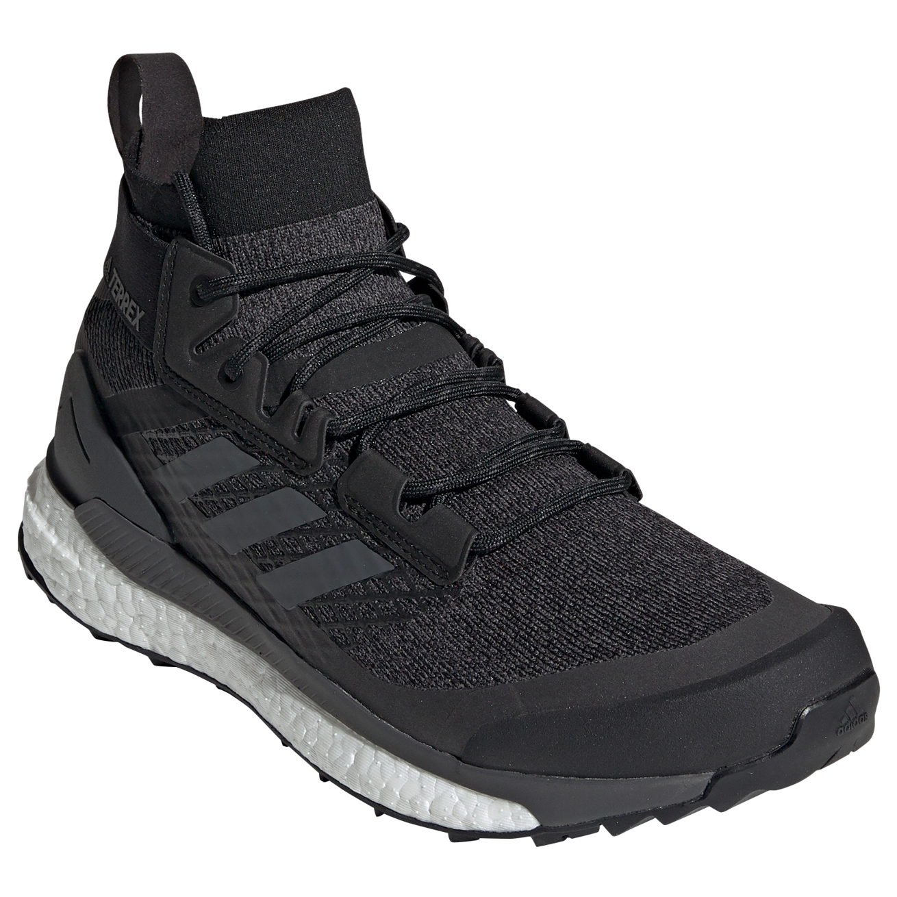 adidas Terrex Free Hiker Scarpe da trekking Core Black Grey Six Active Orange | 7,5 (UK)