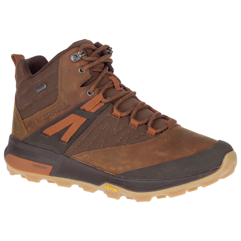 Merrell Zion Mid GTX Chaussures de randonnée Dark Olive | 41,5 (EU)