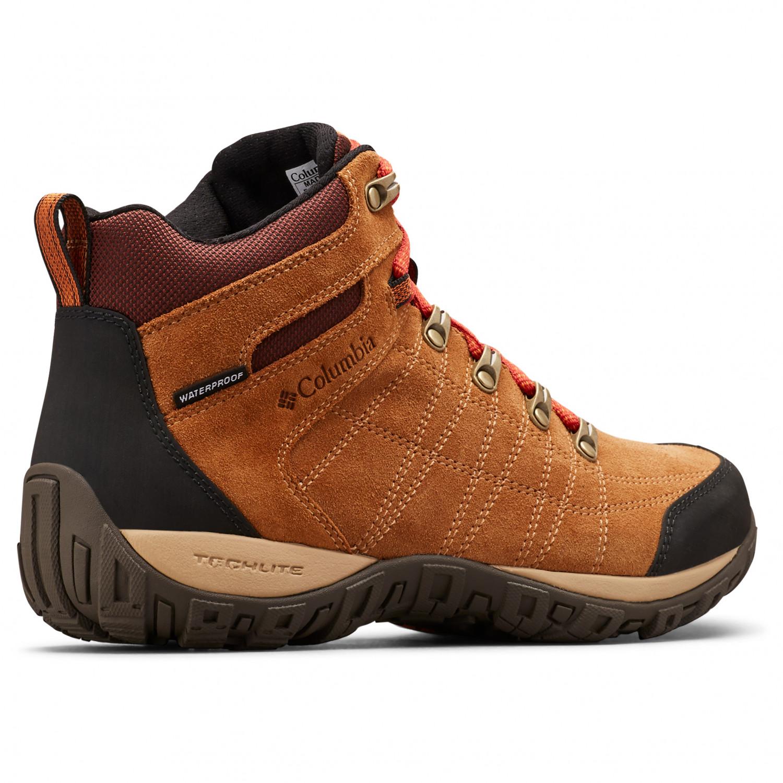 sale retailer 9e07d 53ba7 Columbia - Peakfreak Venture S II Mid WP - Scarpe da trekking - Elk / Flame  | 8,5 (US)