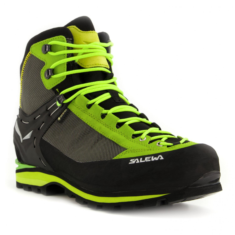 e2f01639f0d Salewa - Crow GTX - Mountaineering boots - Black / Papavero | 12 (UK)