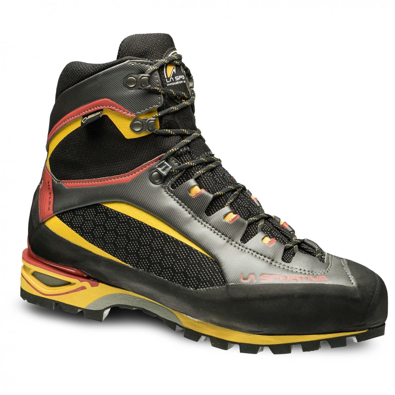 La Sportiva TRANGO TOWER GTX - Walking boots - black/yellow MDqF4V