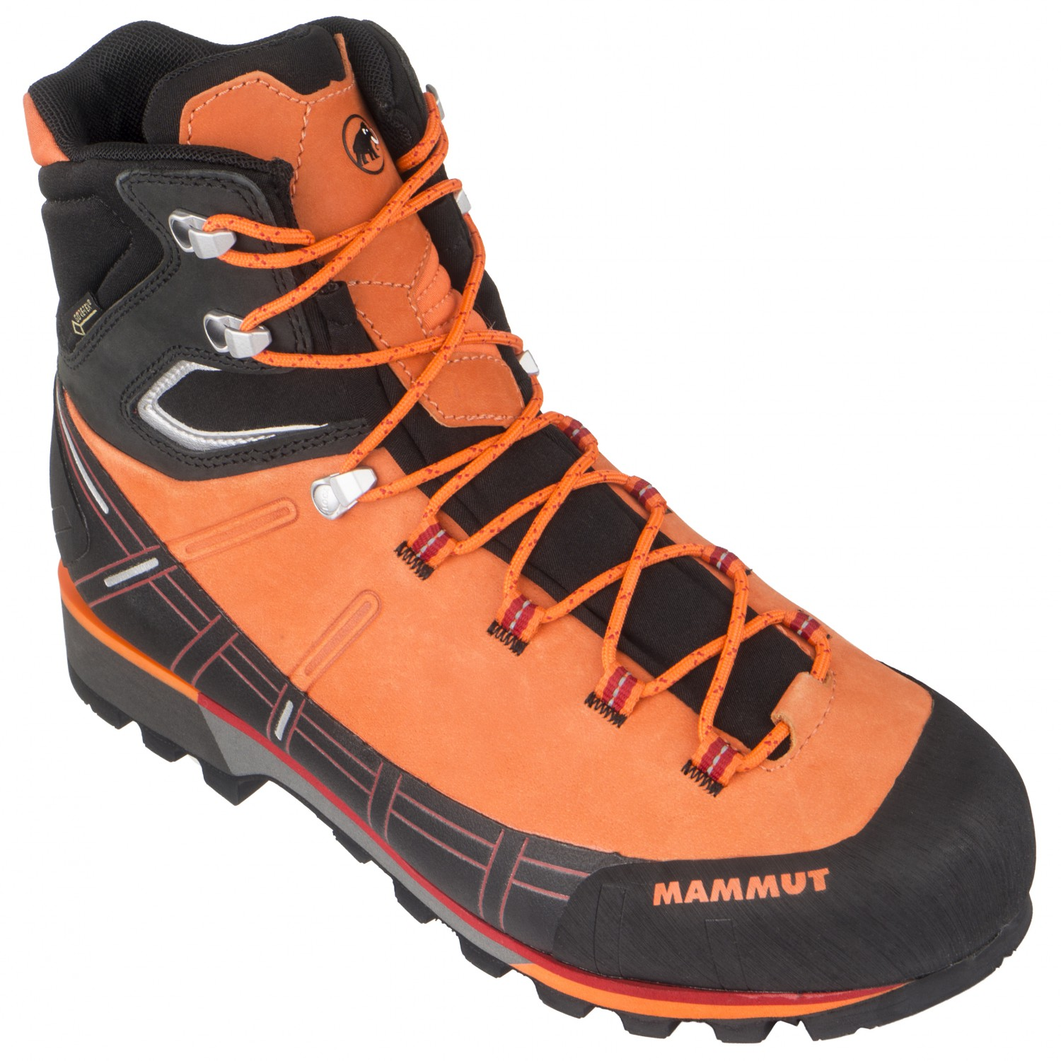 fe360a4c406 Mammut - Kento High GTX - Mountaineering boots - Sunrise / Black | 7,5 (UK)