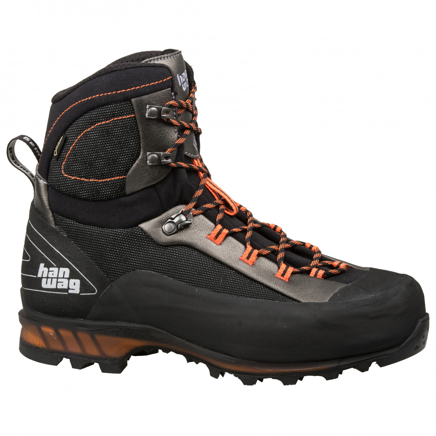 5uk Ii Ferrata Gtx Bergschuhe Hanwag Orange7 Black LqUVGSpzM