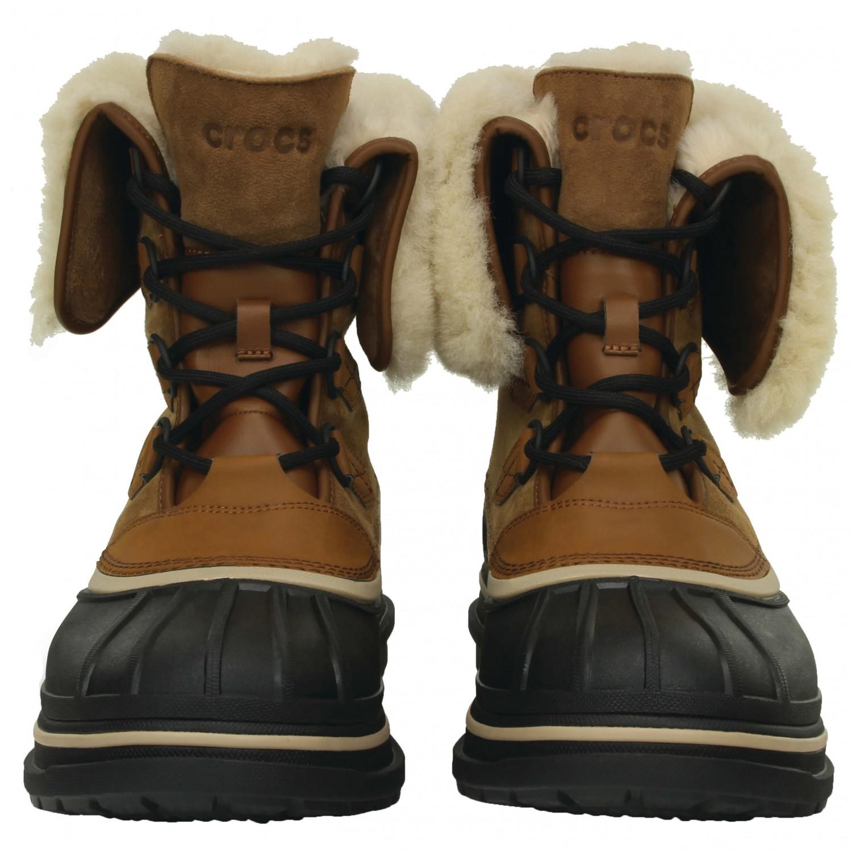 Livraison Boot Crocs Homme Ii Chaussures Luxe Allcast Chaudes FwwxtSq04r