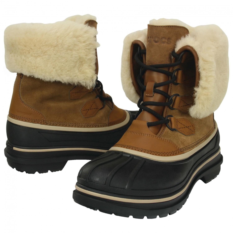 Crocs AllCast II Luxe Boot - Winter Boots Men's   Free UK Delivery   Alpinetrek.co.uk