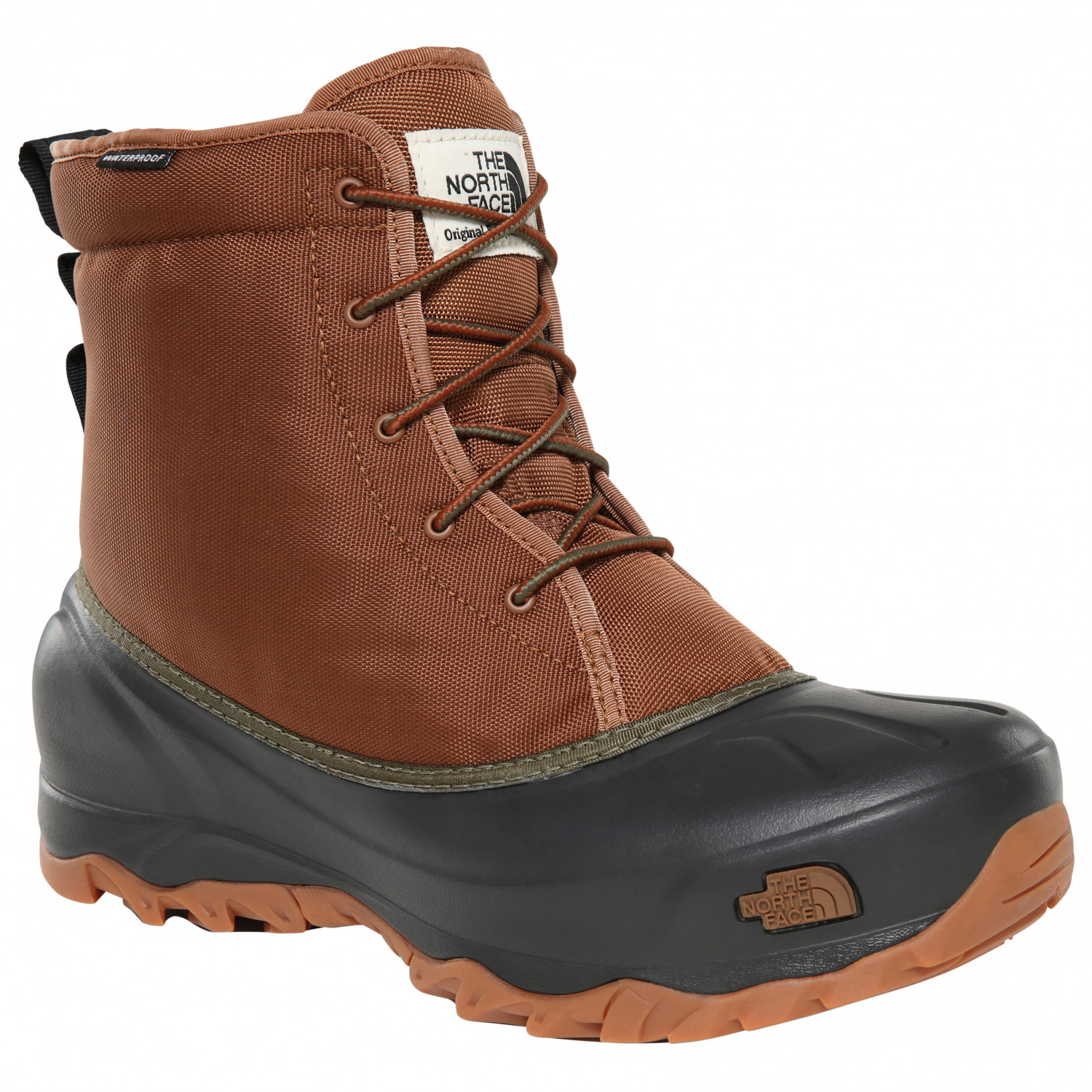 cheap for discount 403f6 6502d The North Face - Tsumoru Boot - Winterschuhe - Monks Robe Brown / TNF Black    8,5 (US)