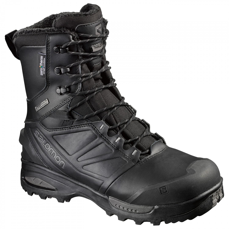 sports shoes c9628 934e5 Salomon - Toundra Pro CSWP - Winterschuhe - Black / Black / Magnet   7,5  (UK)
