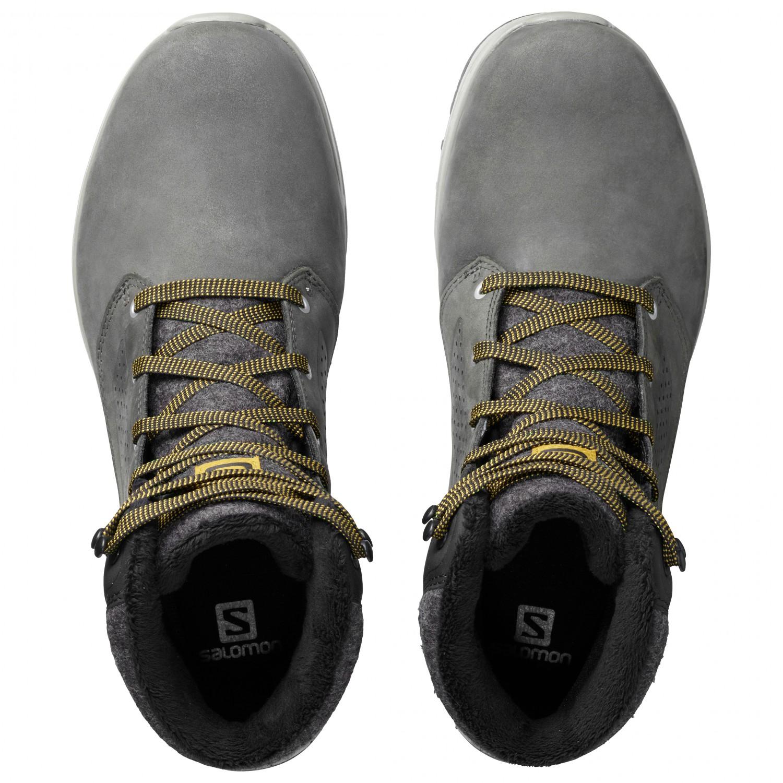 nouvelle arrivee e652d aaa7e Salomon - Utility Winter CS WP - Winter boots - Beluga / Black / Green  Sulphur | 7 (UK)