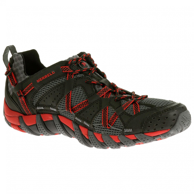 Merrell - Waterproof Maipo - Multisportschuhe Black / Red