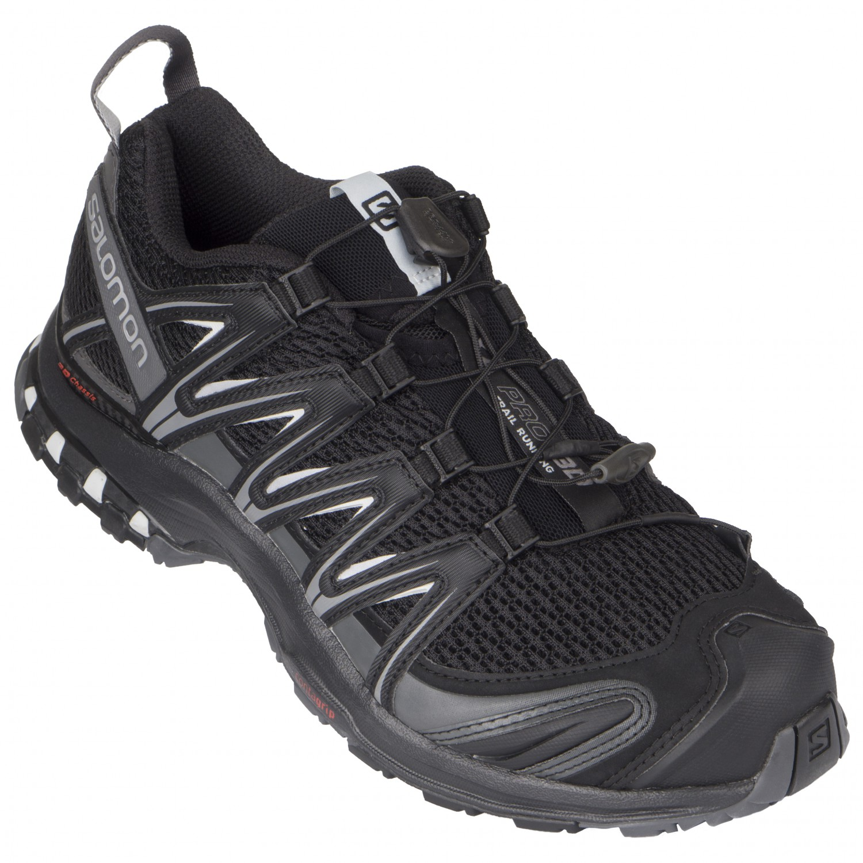 Salomon - XA Pro 3D - Multisport shoes - Black / Magnet / Quiet Shade | 7  (UK)