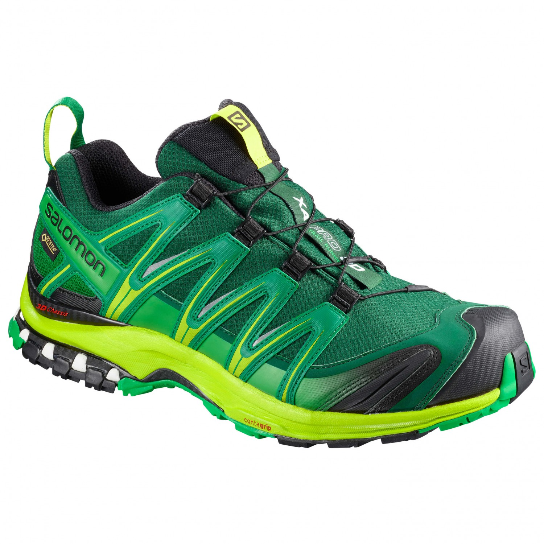 Salomon - XA Pro 3D GTX - Multisportschuhe Rainforest / Lime Green / Fern Green