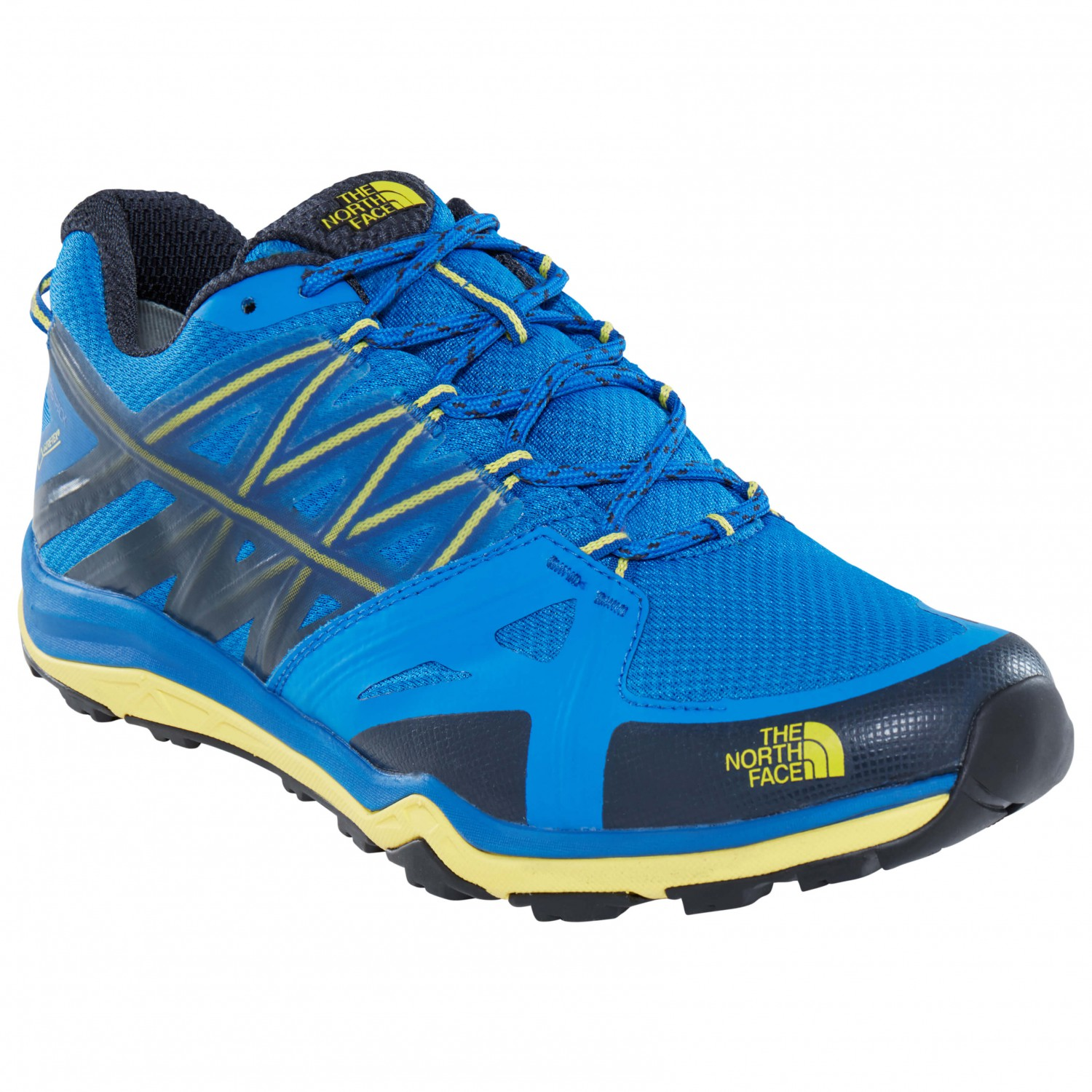 The North Face HEDGEHOG FASTPACK LITE II GTX - Hiking shoes - blue quartz/yellow