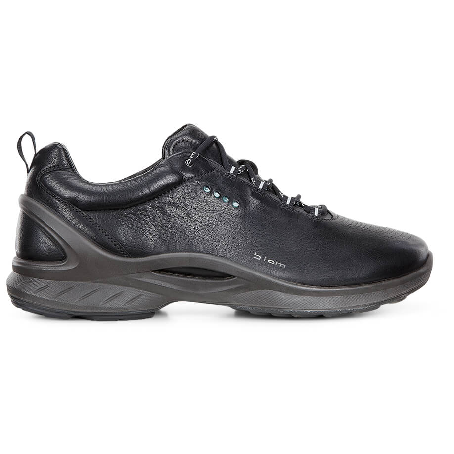Ecco - Biom Fjuel Yak Leather - Multisportschuhe Black