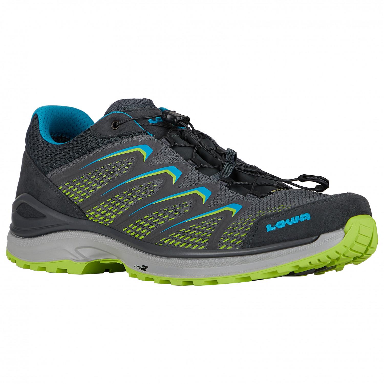 hoch gelobt echte Schuhe 100% authentifiziert Lowa - Maddox GTX Lo - Multisport shoes - Navy / Lime | 7,5 (UK)