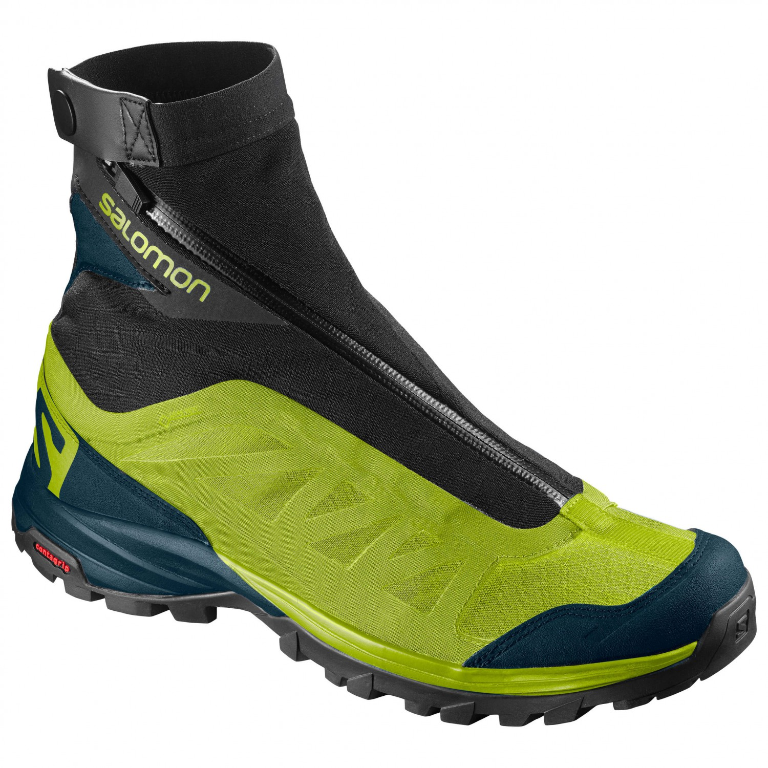 Salomon - Outpath Pro GTX - Multisportschuhe Lime Punch / Reflecting Pond / Black