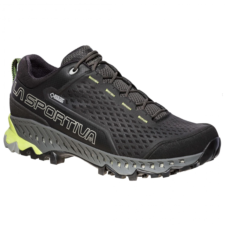 La Sportiva SPIRE GTX - Walking shoes - carbon/apple green 6C6zGiq