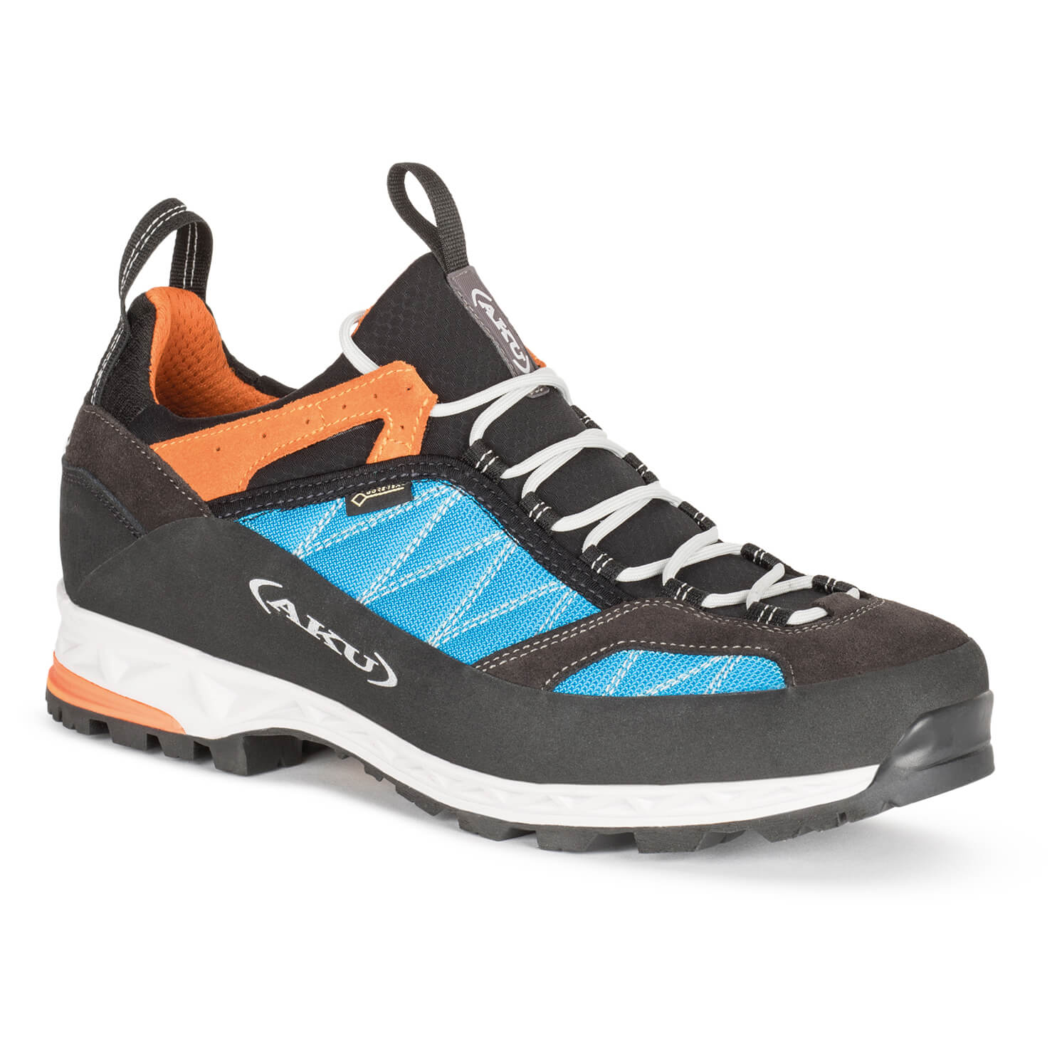 AKU - Tengu Low GTX - Multisportschuhe Turquoise / Orange