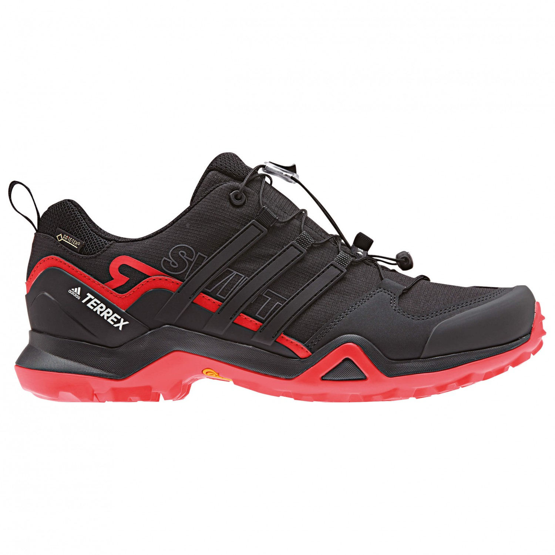 adidas - Terrex Swift R2 GTX - Multisportschuhe Core Black / Core Black / Hi / Res Red S18