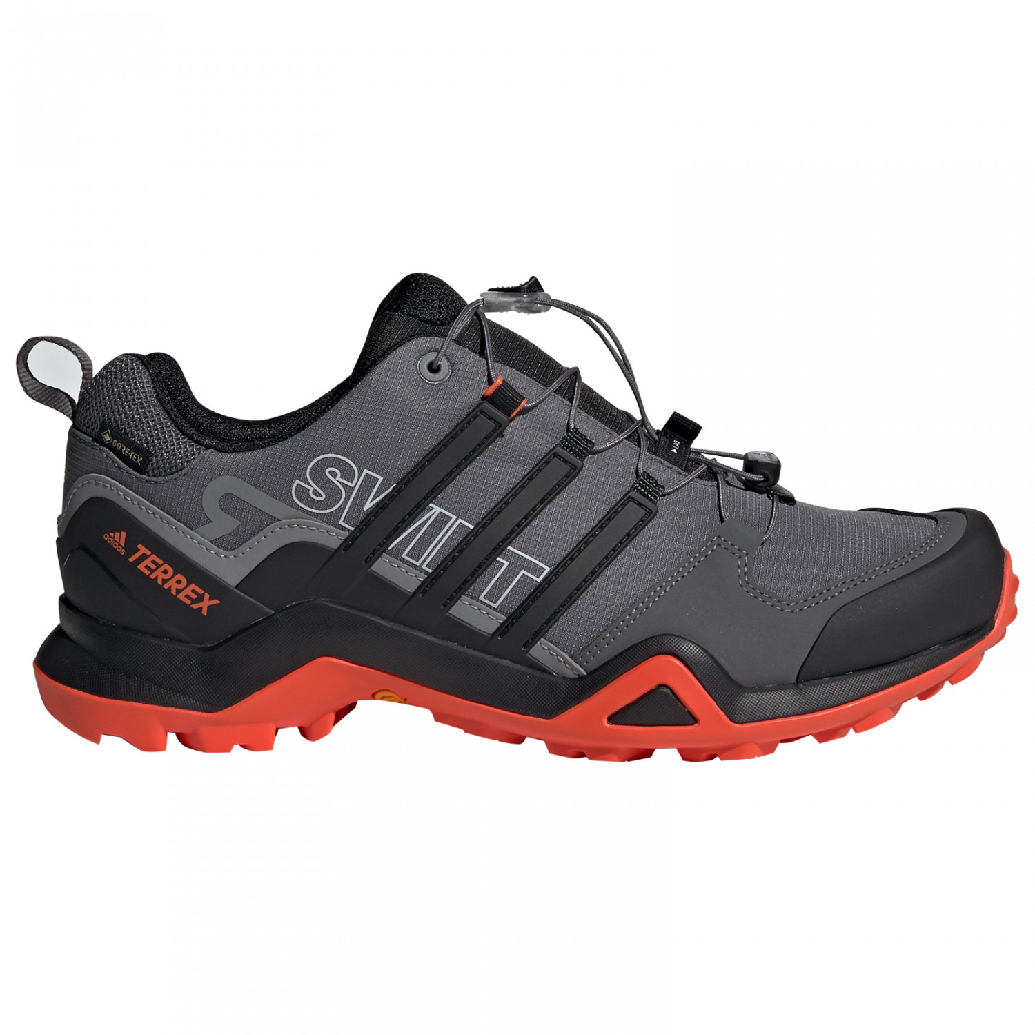 adidas Terrex Swift R2 GTX Chaussures multisports Core Black Dgh Solid Grey Signal Green | 7 (UK)