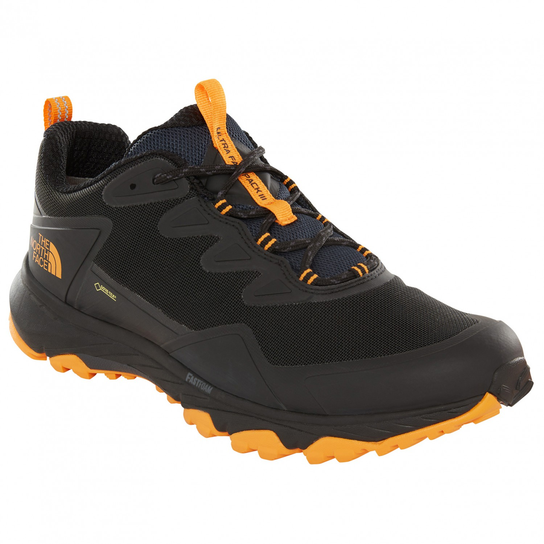 8e02d985b The North Face - Ultra Fastpack III GTX - Multisport shoes - TNF Black /  Zinnia Orange   9 (US)