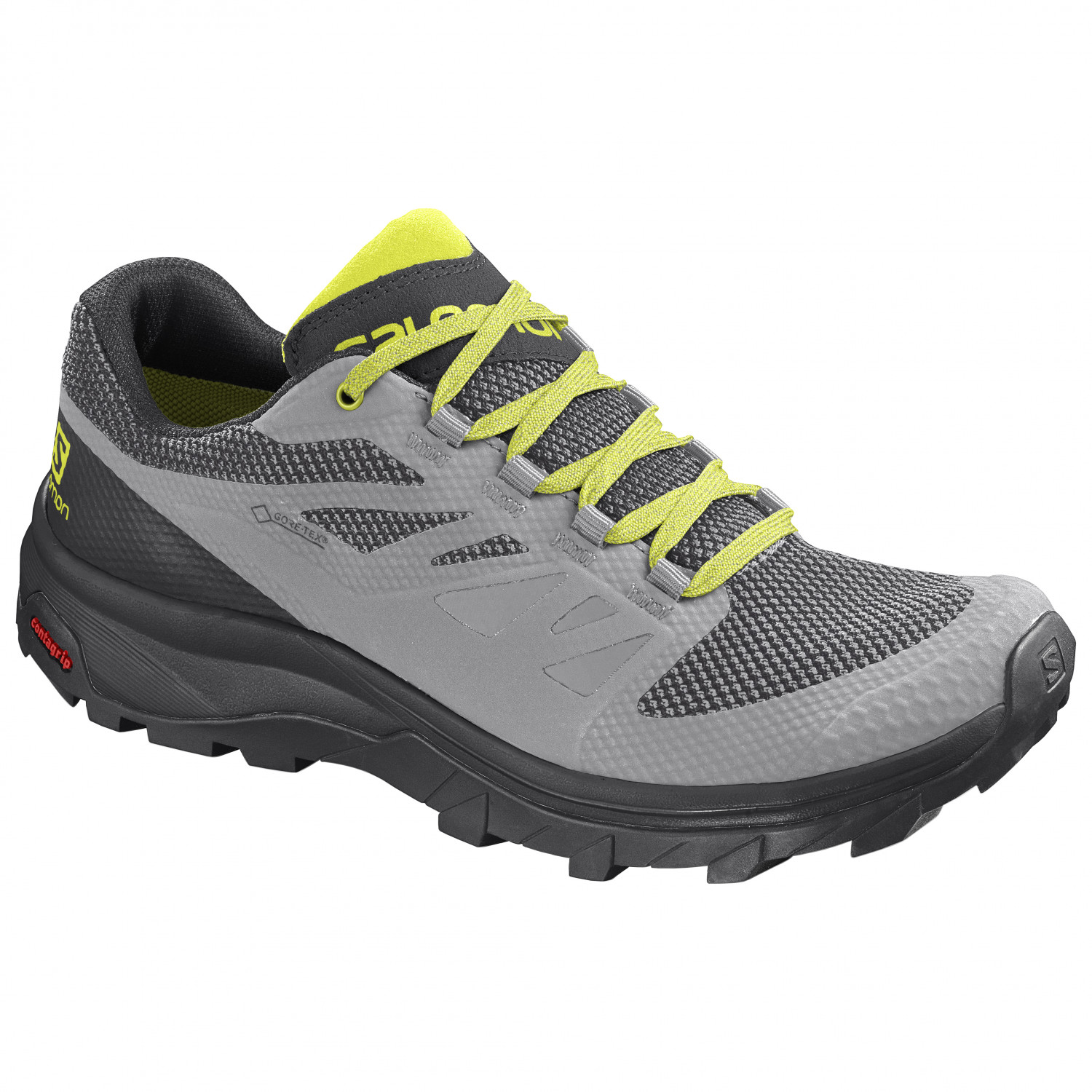 Salomon Outline GTX Multisportschuhe Black Phantom Magnet | 7,5 (UK)