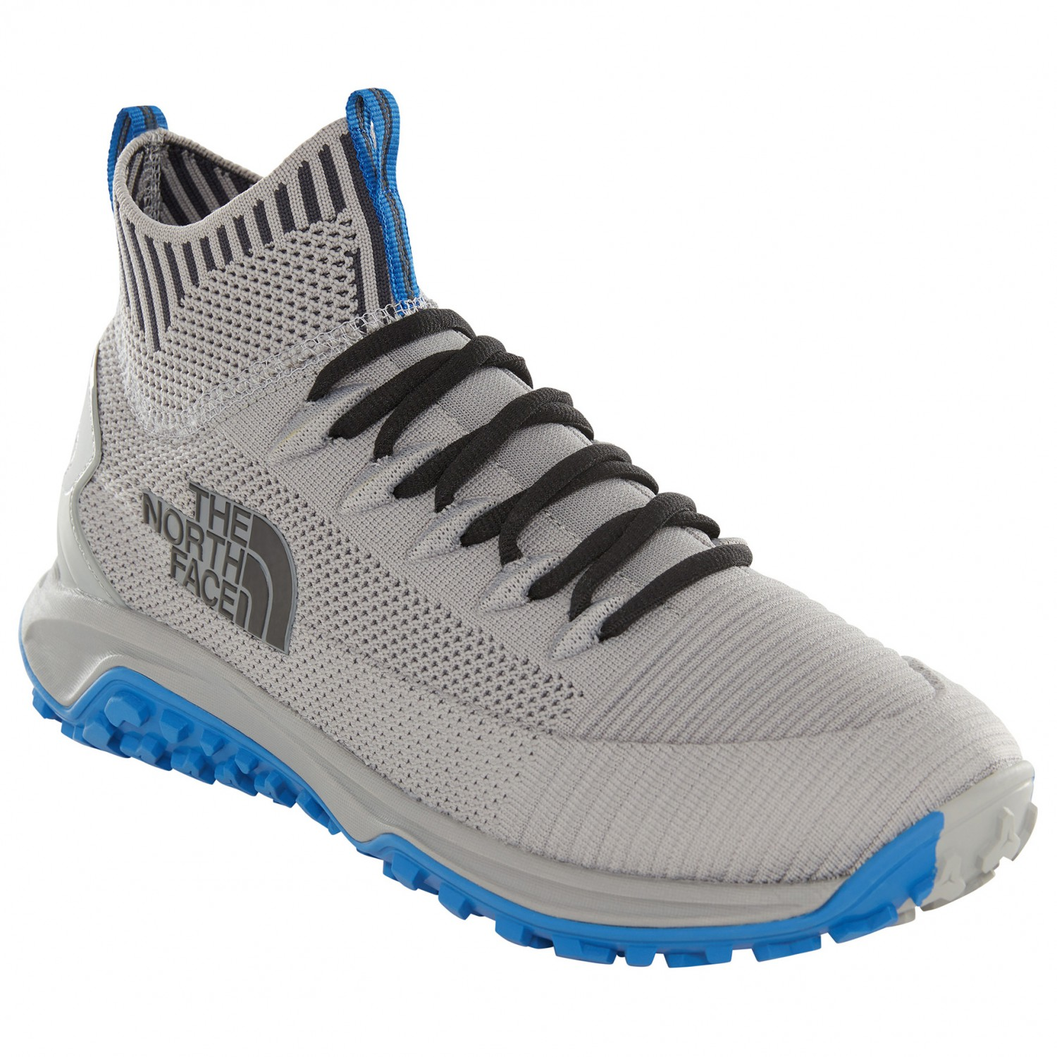 dce9dac6f The North Face - Truxel Mid - Multisport shoes - Griffin Grey / Monster  Blue | 10,5 (US)