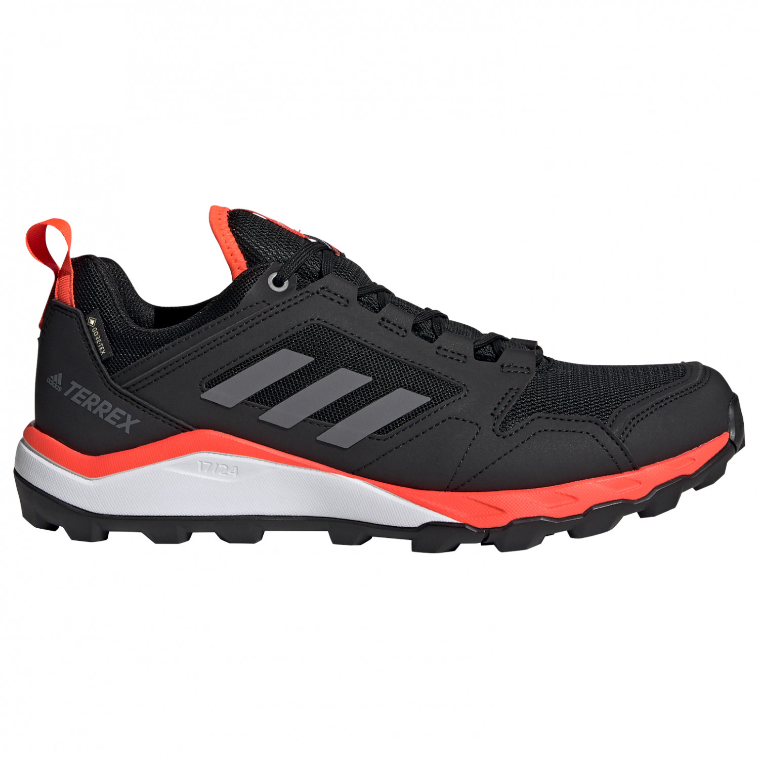 adidas - Terrex Agravic TR GTX - Trail running shoes - Core Black / Grey Four F17 / Solar Red | 6,5 (UK)