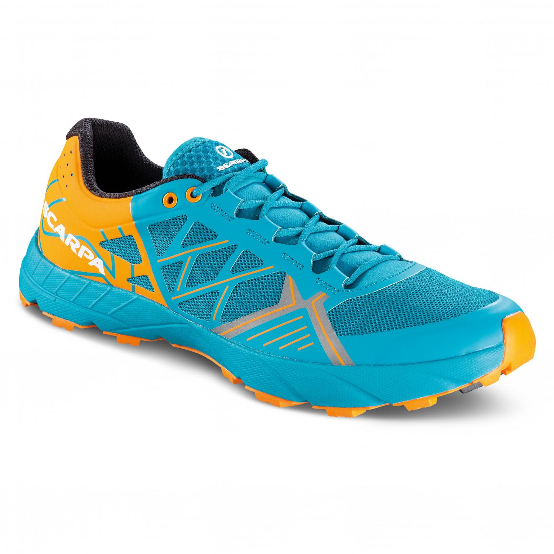 watch ad28c a8813 Scarpa - Spin - Trail running shoes - Sea / Bright Orange | 42 (EU)