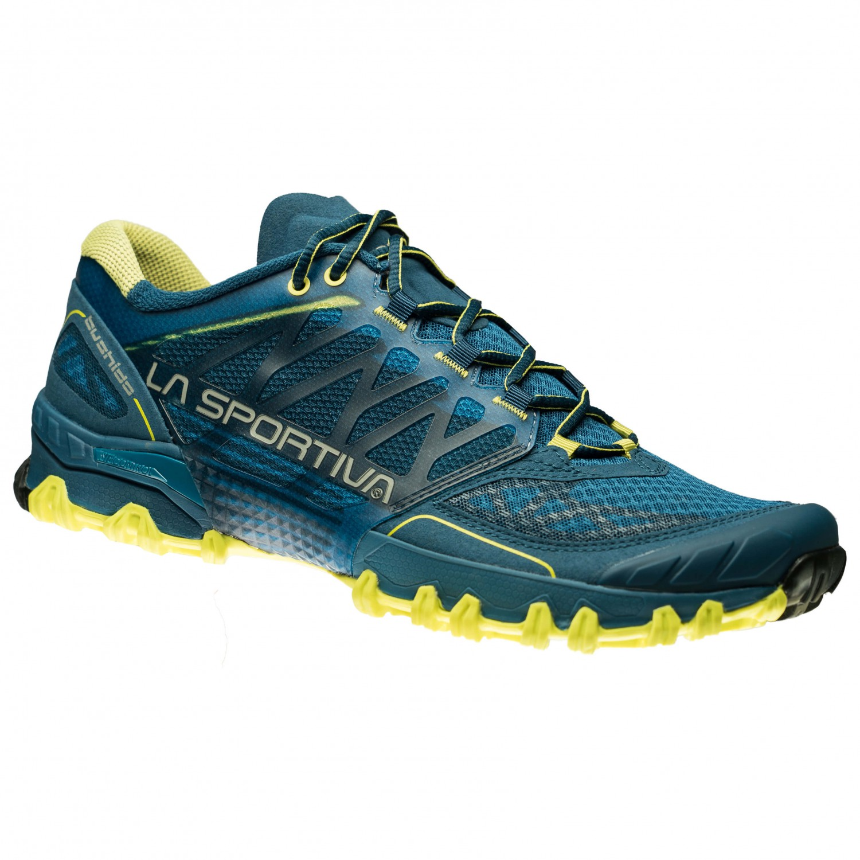La Sportiva - Bushido - Trailrunningschuhe Blue / Papaya