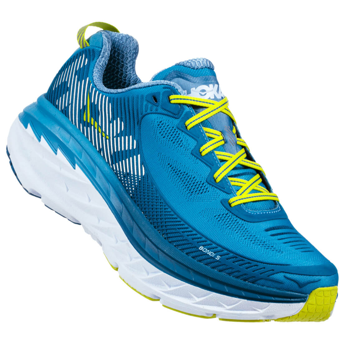 hoka one one bondi 5 running shoes mens free uk