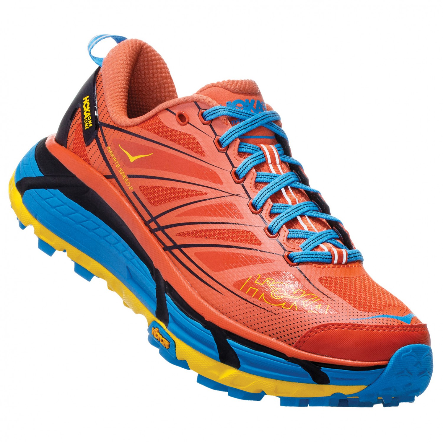 vente en magasin Meilleure vente magasin meilleurs vendeurs Hoka One One - Mafate Speed 2 - Trail running shoes - Old Gold / Moonlit  Ocean | 8,5 (US)