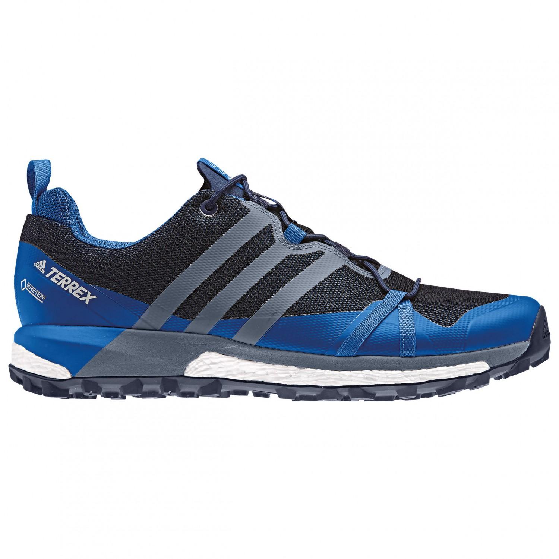 adidas - Terrex Agravic GTX - Trailrunningschuhe Collegiate Navy / Raw Steel S18 / Blue Beauty F10