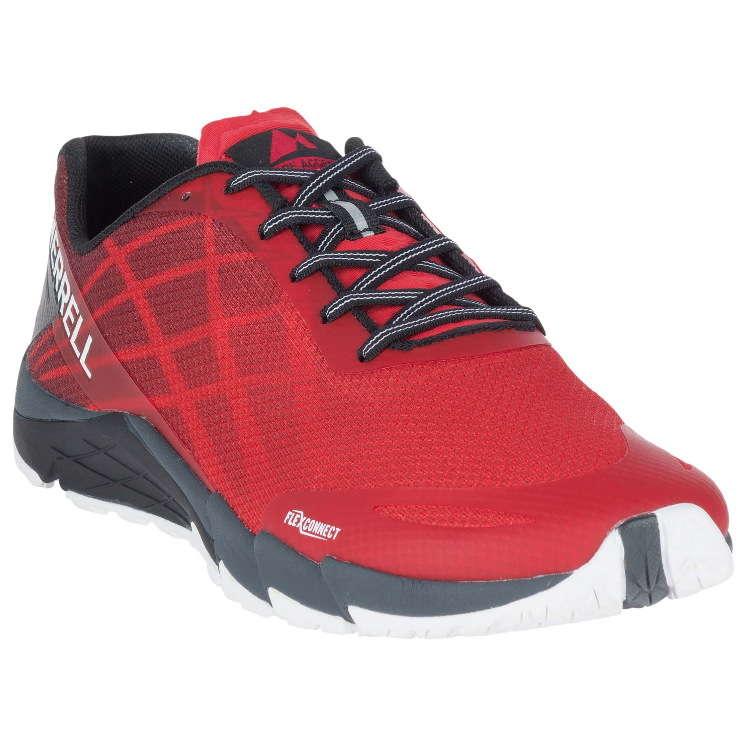 Merrell - Bare Access Flex - Trailrunningschuhe High Risk Red