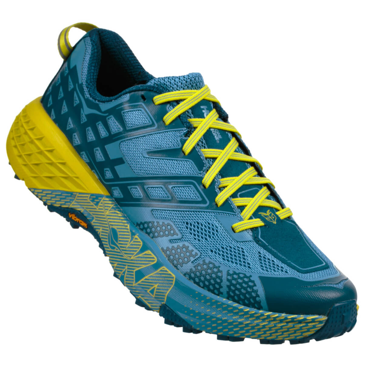 Hoka One One - Speedgoat 2 - Trailrunningschuhe Midnight / Niagara
