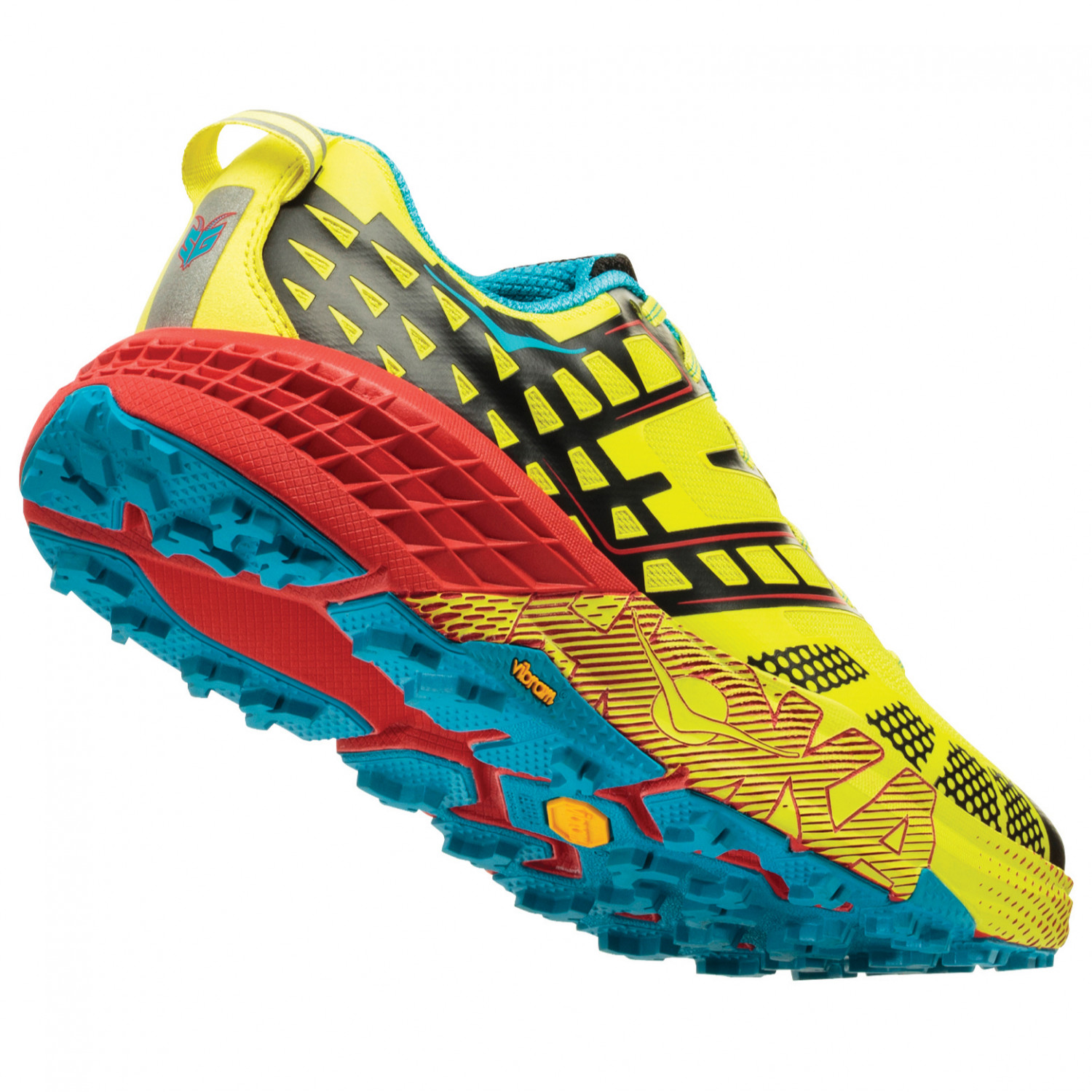 Hoka One One yellow Speedgoat 2 lace-up sneakers new arrival clearance excellent outlet shop best prices cheap sale official RwNOpR29