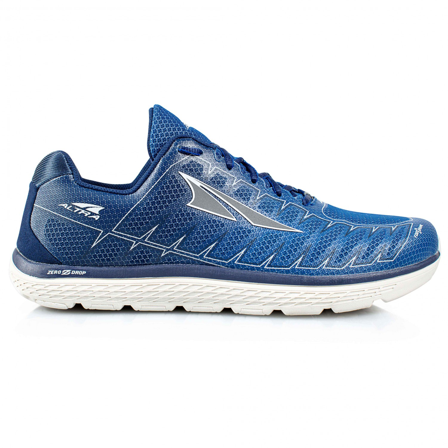Altra - One V3 - Runningschuhe Blue / Gray