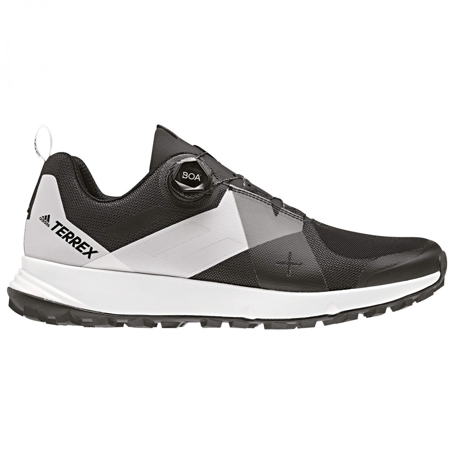adidas Terrex Two Boa Chaussures de trail Core Black Translucent FTWR White | 8 (UK)