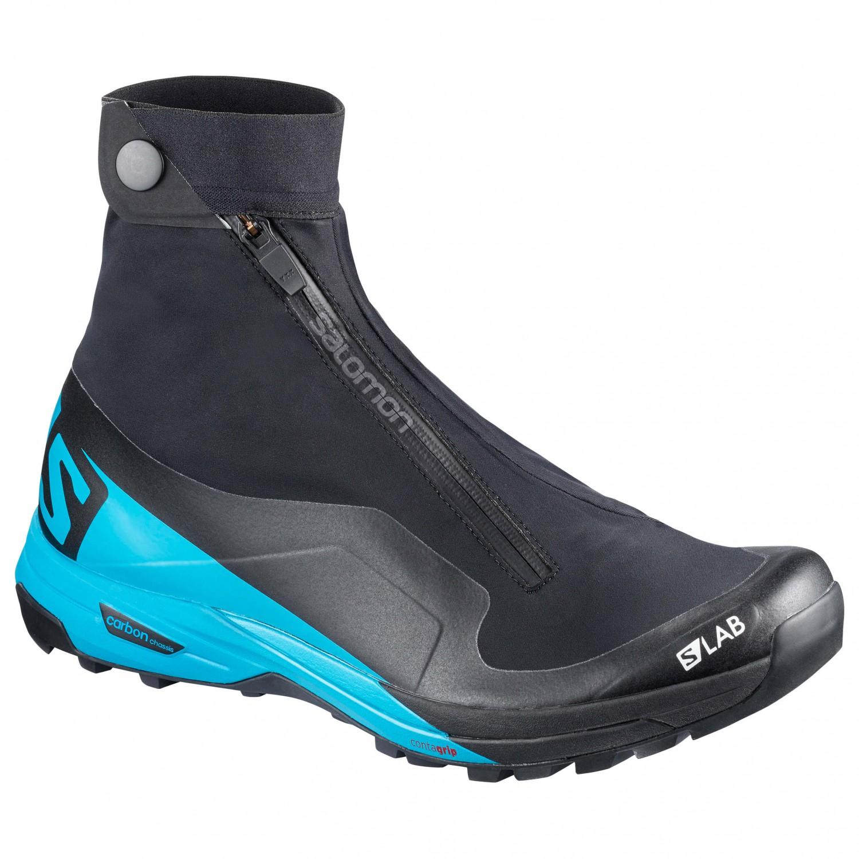 Salomon - S-Lab XA Alpine 2 - Trailrunningschuhe Black / Transcend Blue / Racing Red