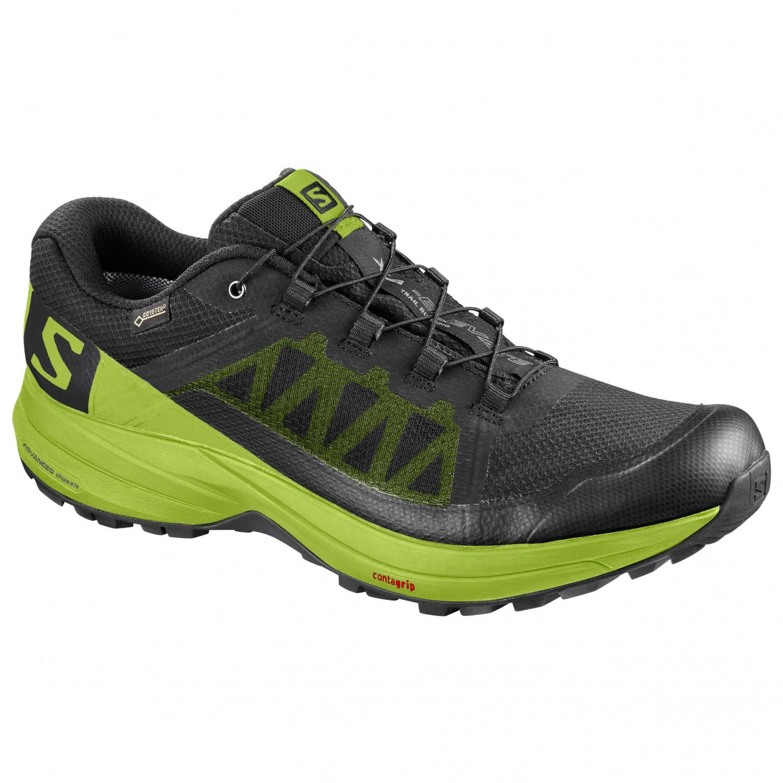 Salomon - XA Elevate GTX - Zapatillas de trail running - Black / Lime Green  / Black   7,5 (UK)