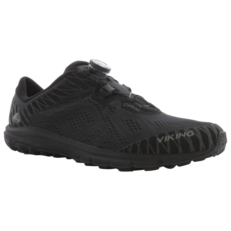 Viking Chaussures de Trail Homme - Noir - Noir (Black 2 2), 42 EU