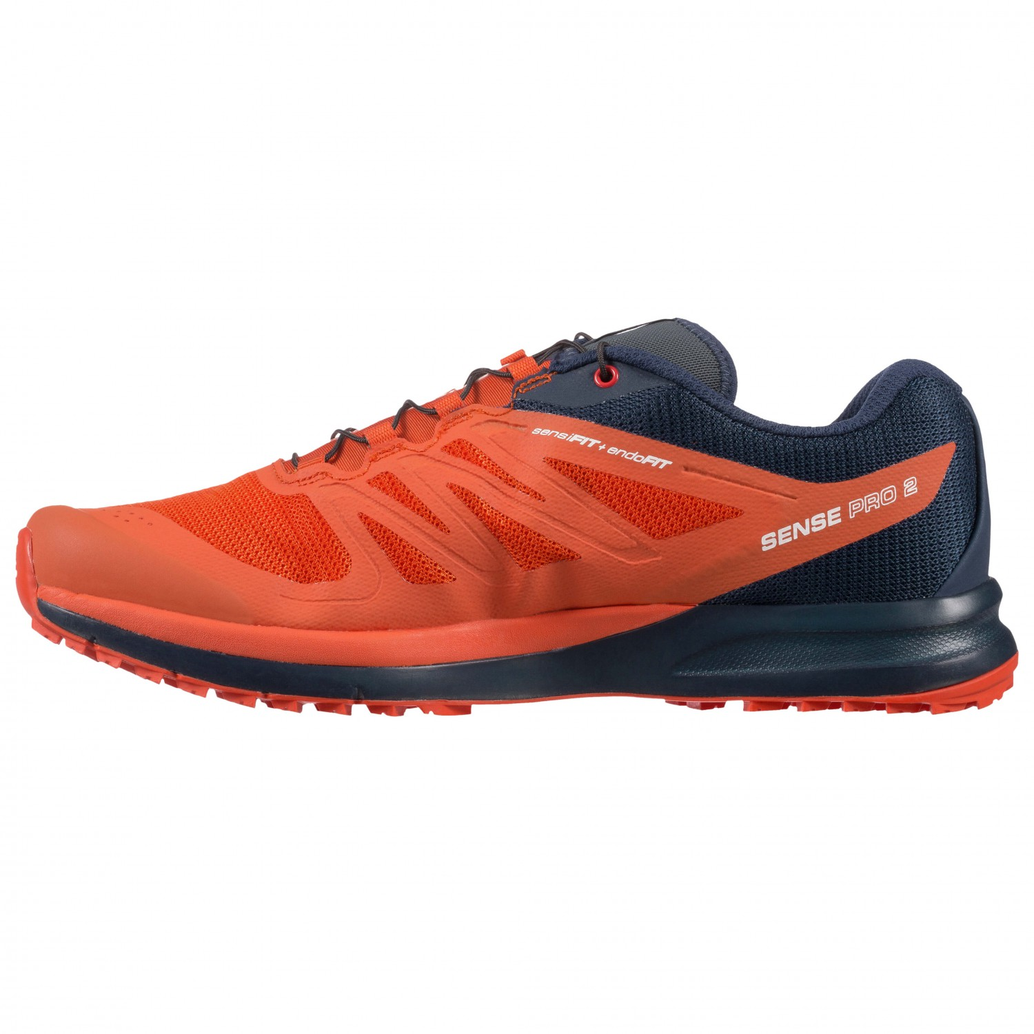 1f0fd094 Salomon - Sense Pro 2 - Running shoes - Fiery Red / Night Sky / Sulphur  Spring | 9 (UK)