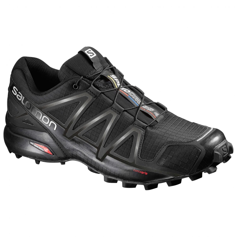 Salomon - Speedcross 4 - Trailrunningschuhe Black / Black / Black Metallic