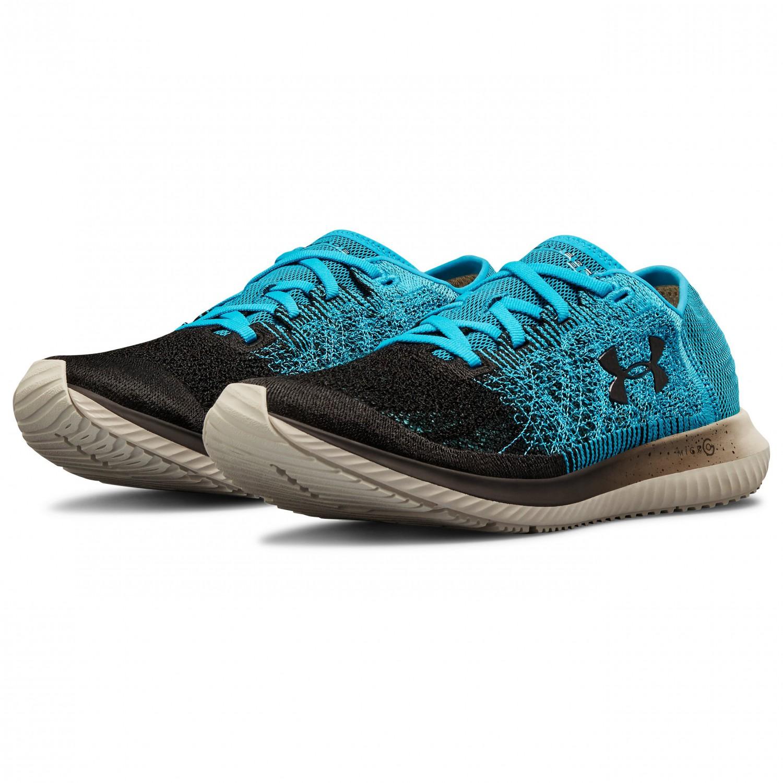 409a253c23 Under Armour - Threadborne Velociti - Running shoes - Deceit / Ghost Gray /  Black | 9,5 (US)