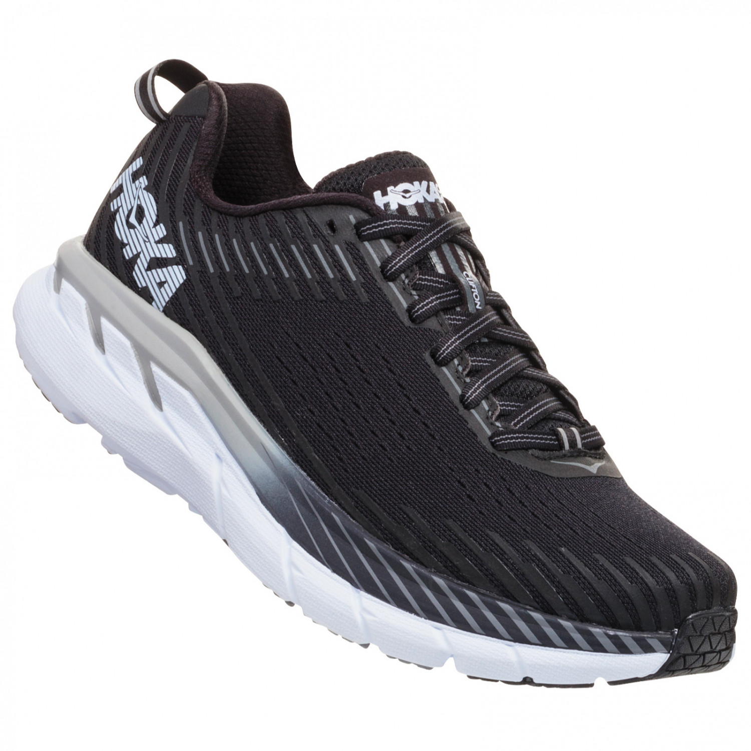 hoka one one clifton 5 running shoes mens free uk