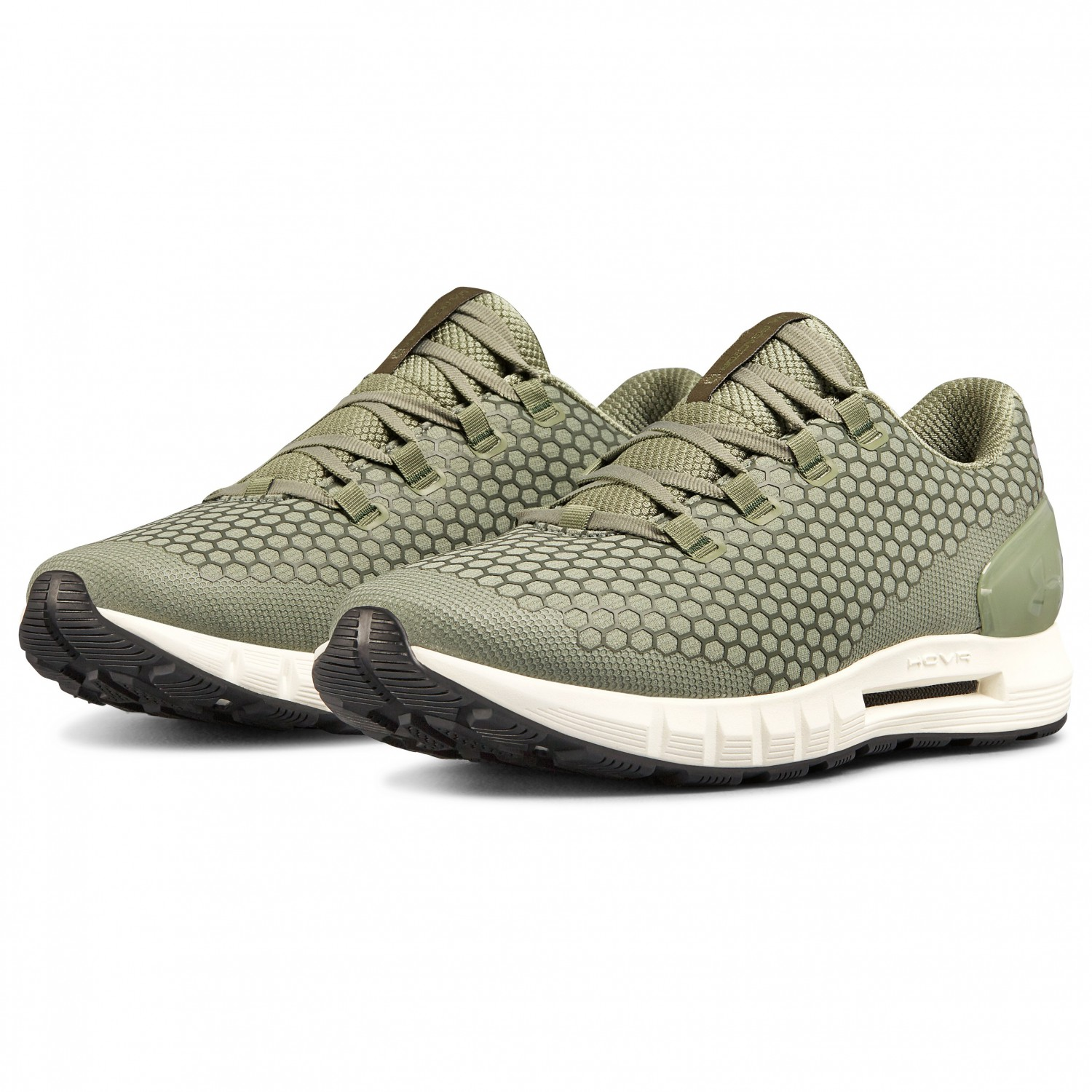 best sneakers 57972 987ea Under Armour - UA HOVR CG Reactor NC - Running shoes - Moss Green / Ivory /  Moss Green | 10,5 (US)