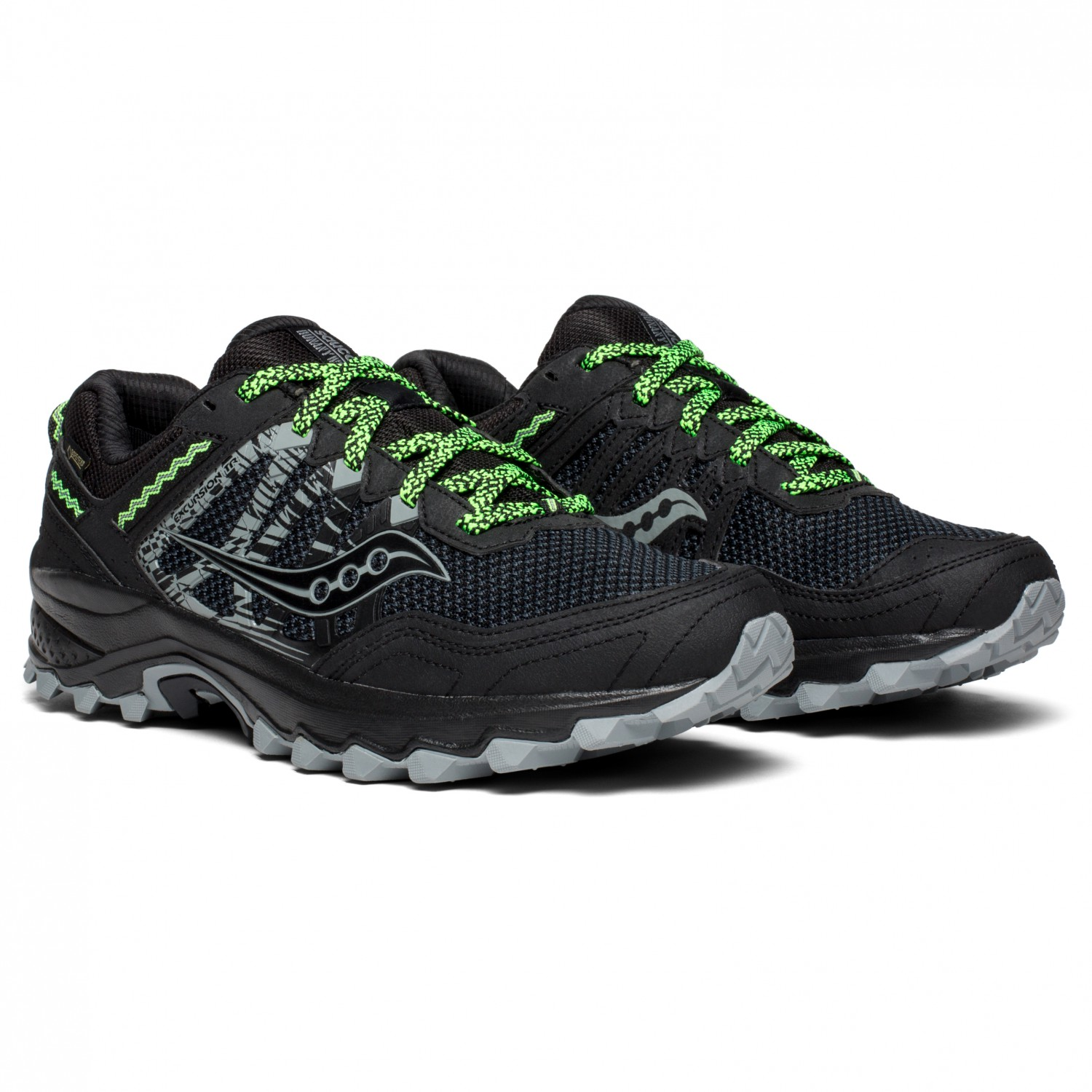 f56efad5ff Saucony - Excursion TR12 GTX - Trail running shoes - Black | 10 (US)